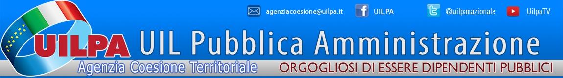UILPA Agenzia Coesione Territoriale